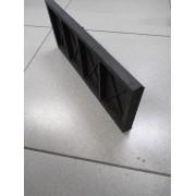Камень бордюрный полимерпесчаный 500*200*30 черный