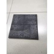 Плитка садовая полимерпесчаная 250*250*20мм черная