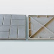 Плитка садовая полимерпесчаная 250*250*20мм цветная